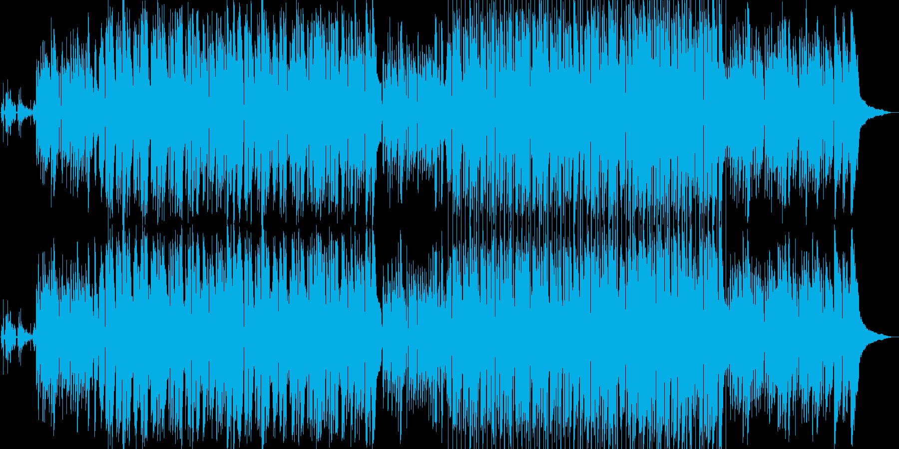 優しい母なる地球の歌の再生済みの波形