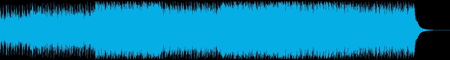 危険感漂うトレモロギターの奇妙なサウンドの再生済みの波形