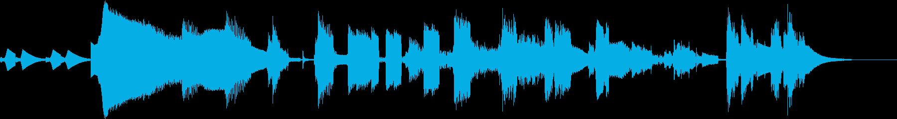 3Dプリンターの動作音をシンセなどで表現の再生済みの波形