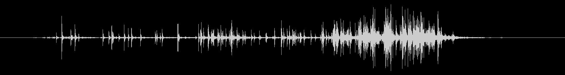 フックとループファスナー付きの小さ...の未再生の波形
