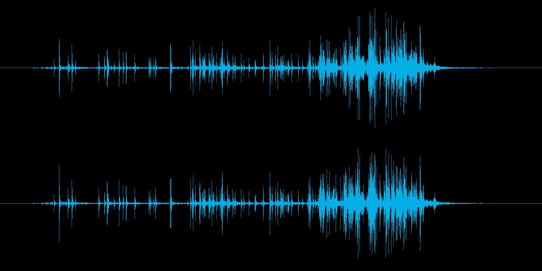 フックとループファスナー付きの小さ...の再生済みの波形