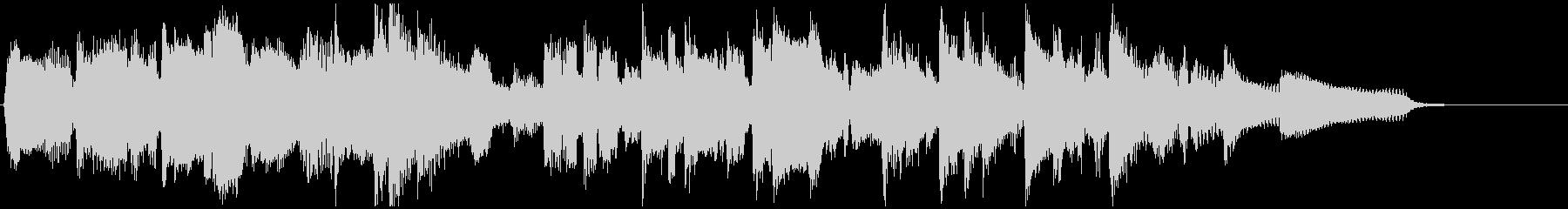 15秒CM用テンポ良いウキウキしたジャズの未再生の波形