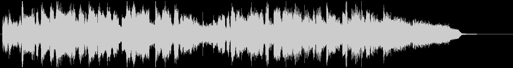 15秒CM向け■ジャズ、明るい、始まりの未再生の波形