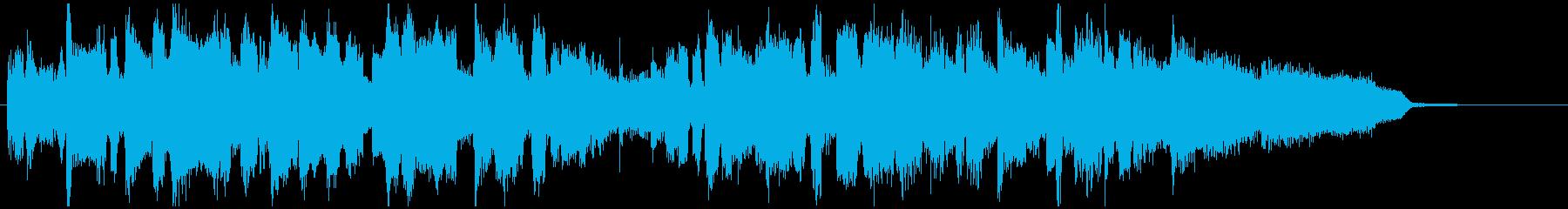 15秒CM向け■ジャズ、明るい、始まりの再生済みの波形