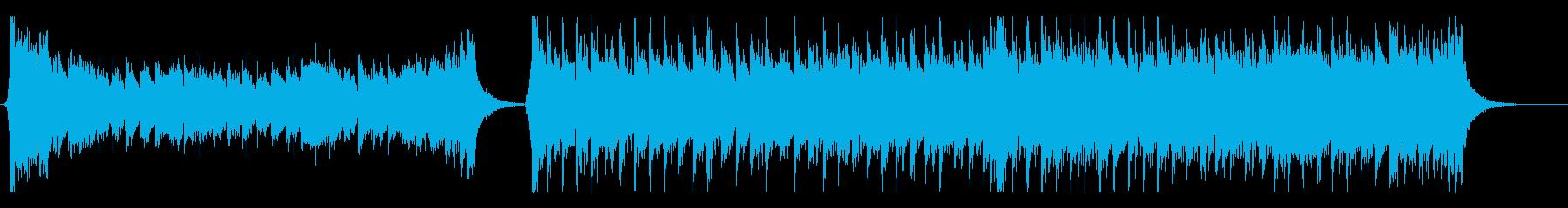 力強く勇気付ける壮大なシネマティック曲の再生済みの波形