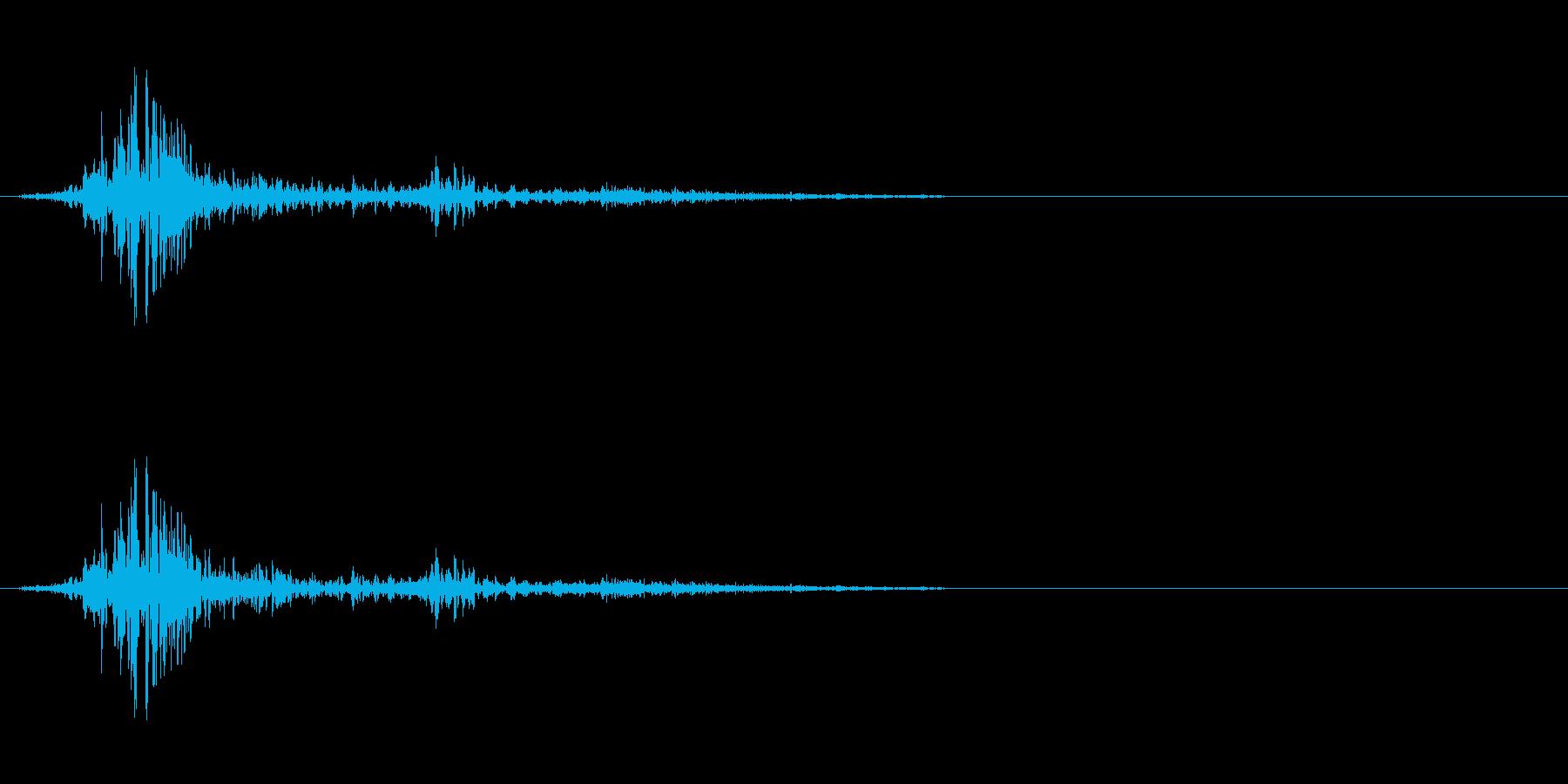 アクションの衣擦れ-05の再生済みの波形