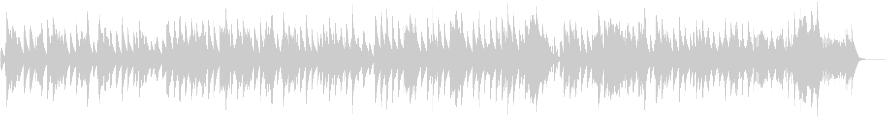 ショパン夜想曲5番のアンサンブルの未再生の波形
