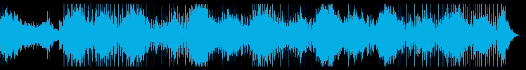 インダストリアルなホラーアンビエントの再生済みの波形