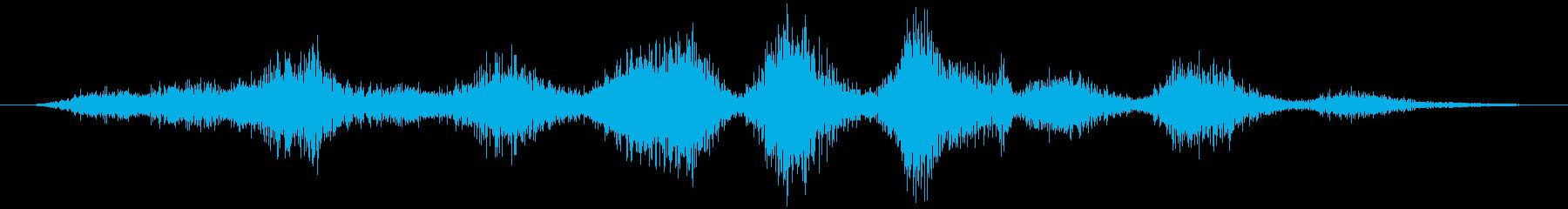 塩入れ:ショートシェイクフードの再生済みの波形