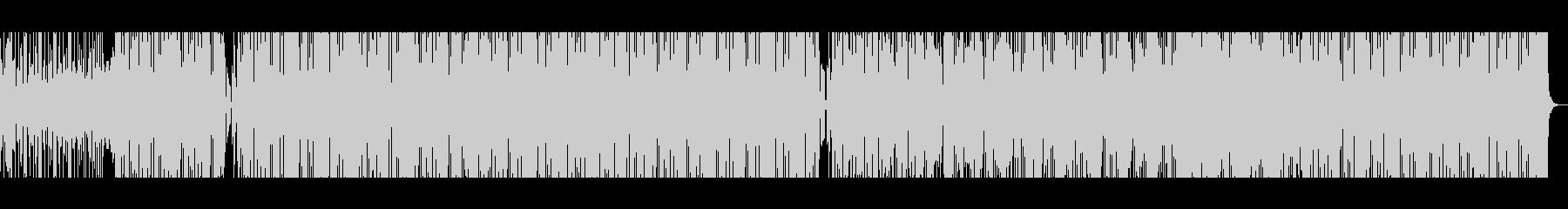 デジタルなギターポップ♪スマホCM風の未再生の波形