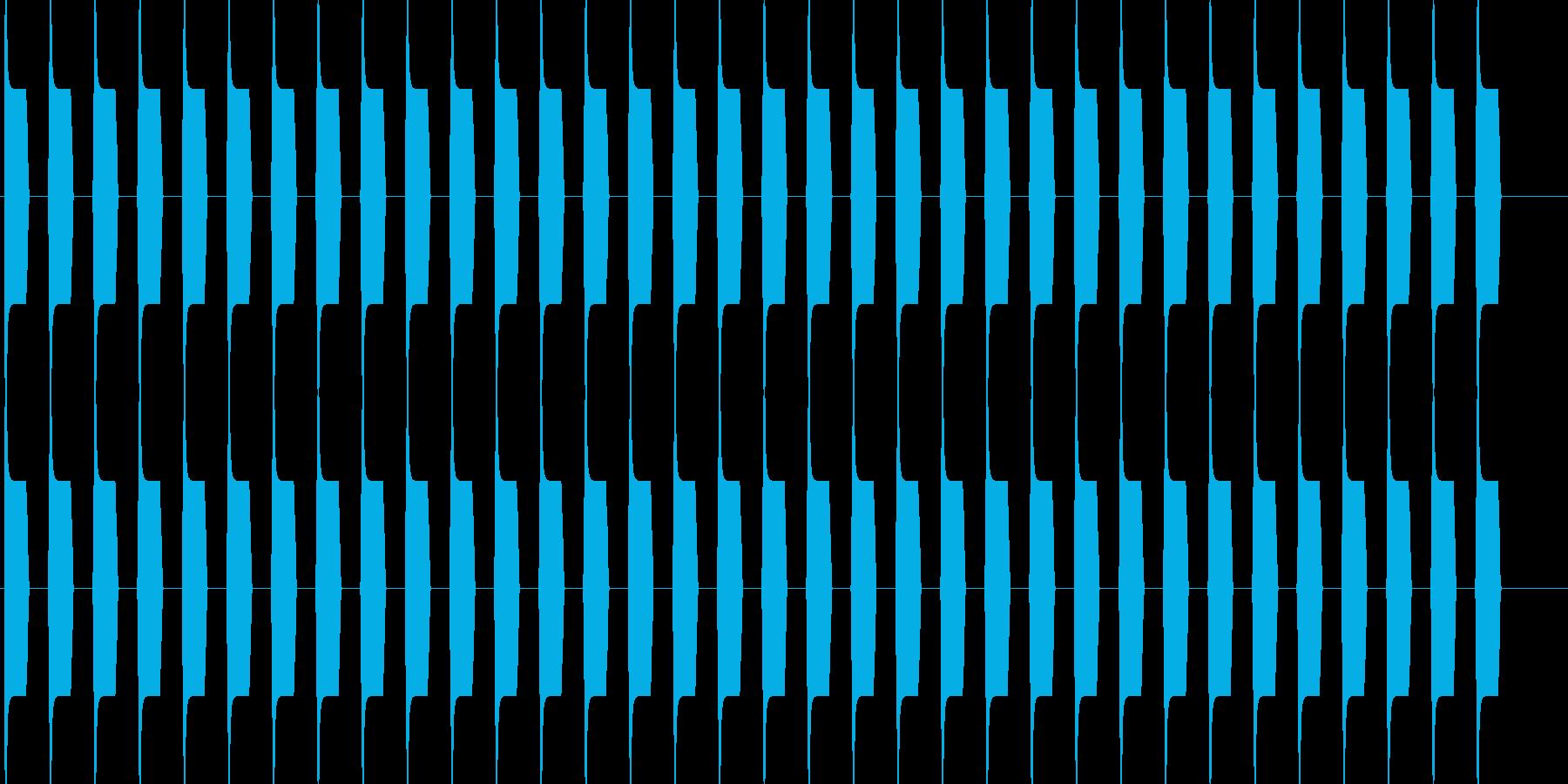 ブーブー な警告音 緊急連絡 アラーム1の再生済みの波形