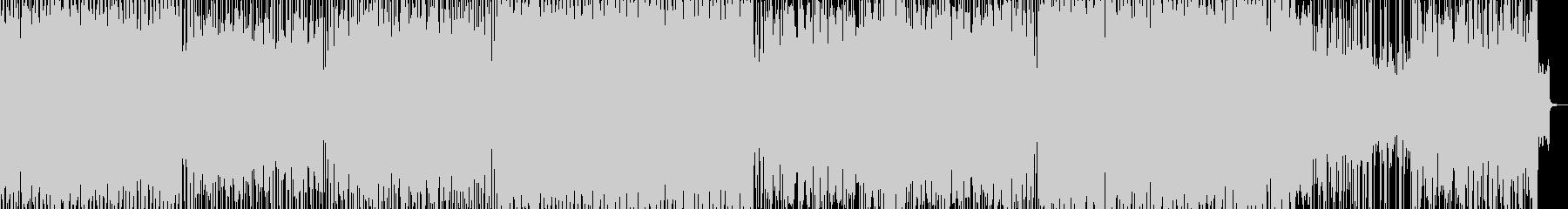 サビにピアノが美しいEDMの未再生の波形