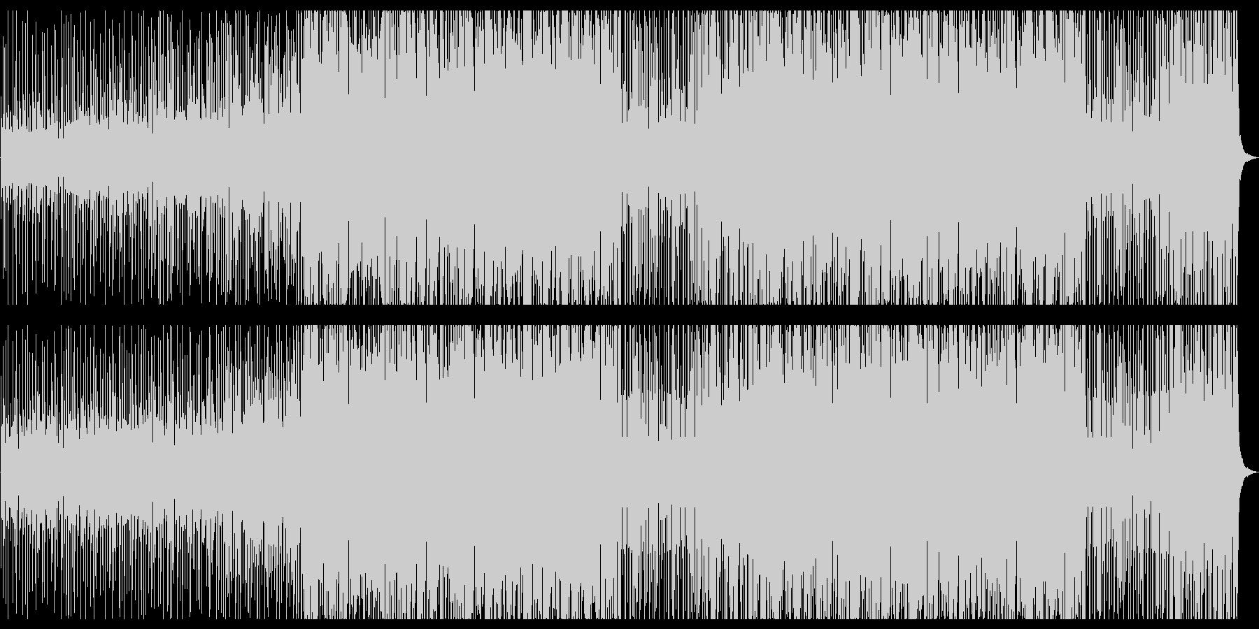 スペインをイメージしたマリアッチ風EDMの未再生の波形