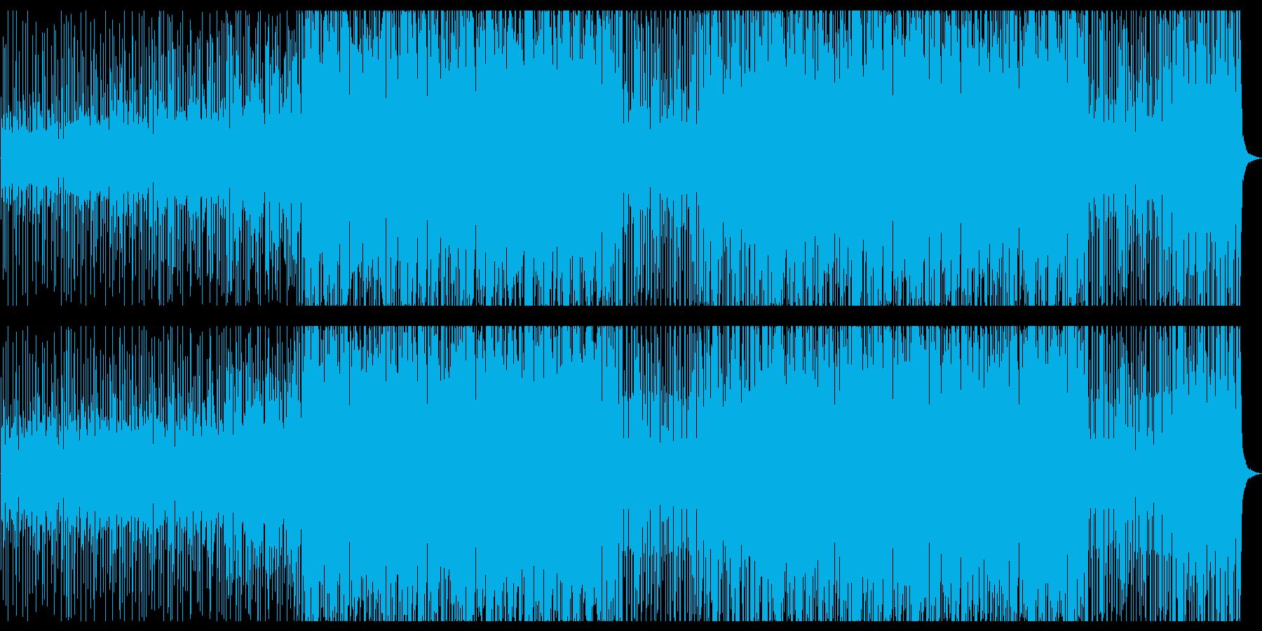 スペインをイメージしたマリアッチ風EDMの再生済みの波形
