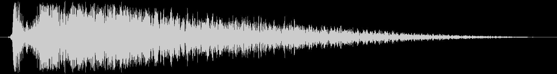 火 スペルファイアキャストラージ02の未再生の波形