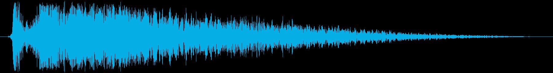 火 スペルファイアキャストラージ02の再生済みの波形
