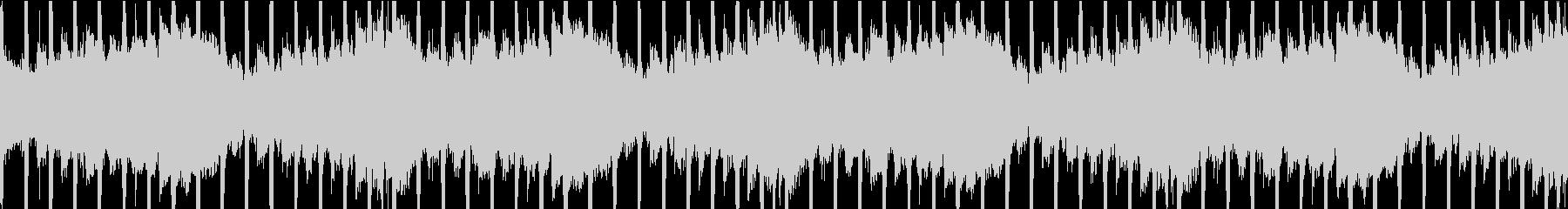 幻想的な四つ打ち曲ループ仕様の未再生の波形