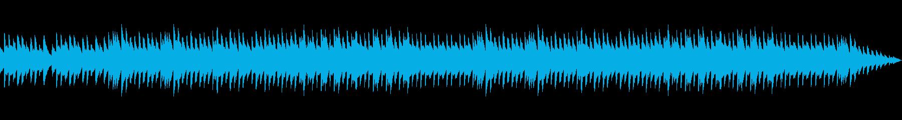明るい雰囲気に包まれたオルゴールBGMの再生済みの波形