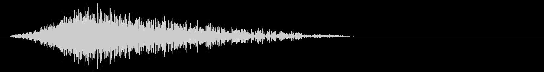 ハリウッド予告風_低音インパクトの未再生の波形