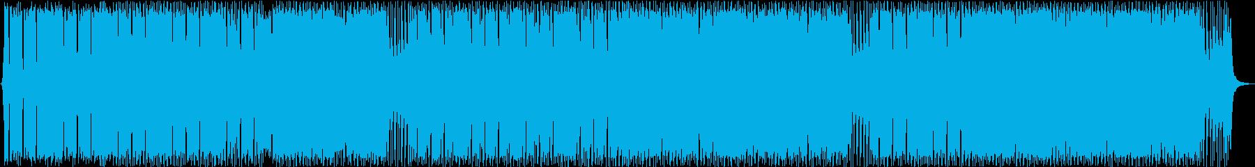インディーロック 積極的 焦り 燃...の再生済みの波形