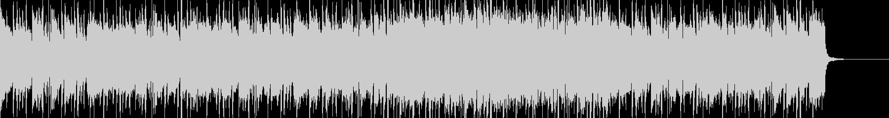 ハードロック系のリフの未再生の波形