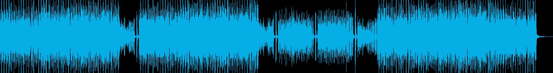 シンプル・フルート&打楽器スィングポップの再生済みの波形