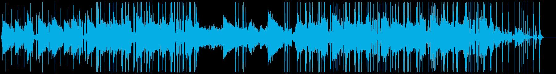 メロウなエレピヒップホップの再生済みの波形