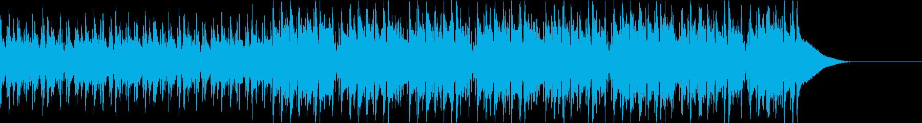 Pf「来客」和風現代ジャズの再生済みの波形