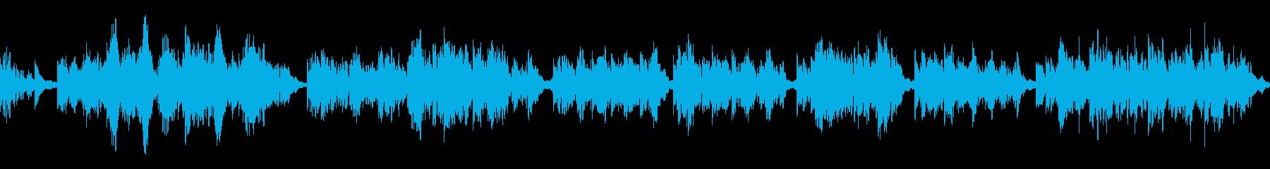 静かで切ない穏やかなピアノソロ の再生済みの波形