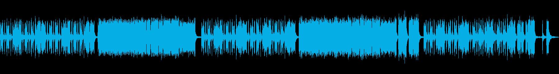 昔語り風なアコーディオン(ハーモニカ?)の再生済みの波形
