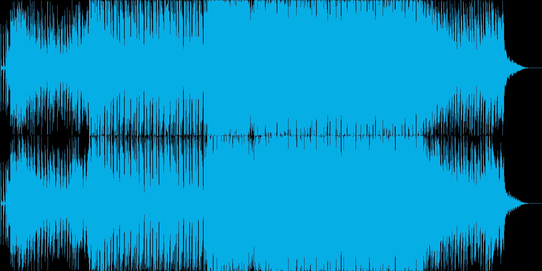 おしゃれエレクトロポップスの再生済みの波形