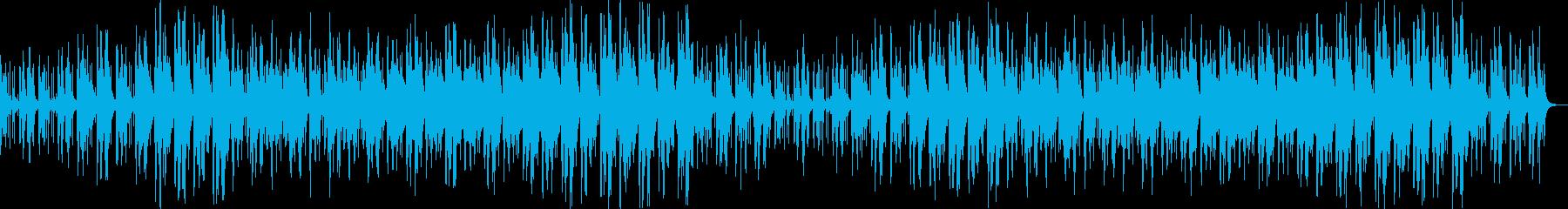 日本昔話の様な優しい和風曲の再生済みの波形