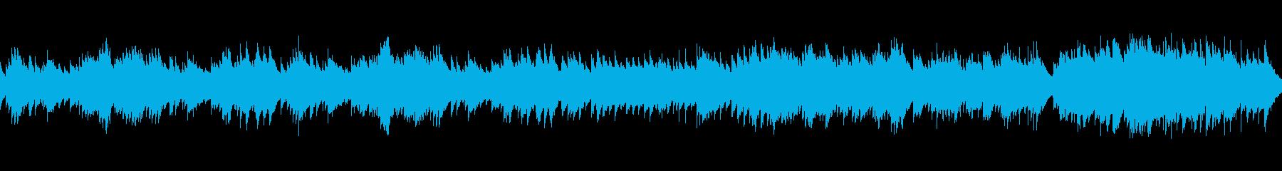 ミステリアスなチェレスタ(ループ)の再生済みの波形