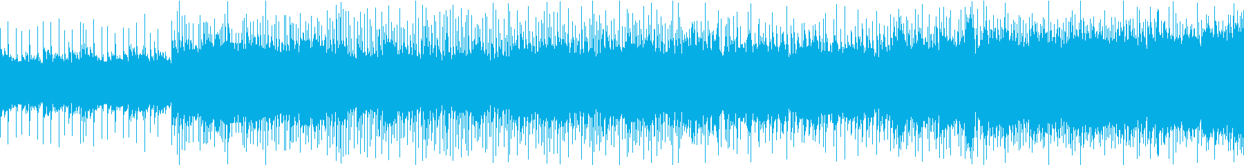RPG風バトルBGMの再生済みの波形