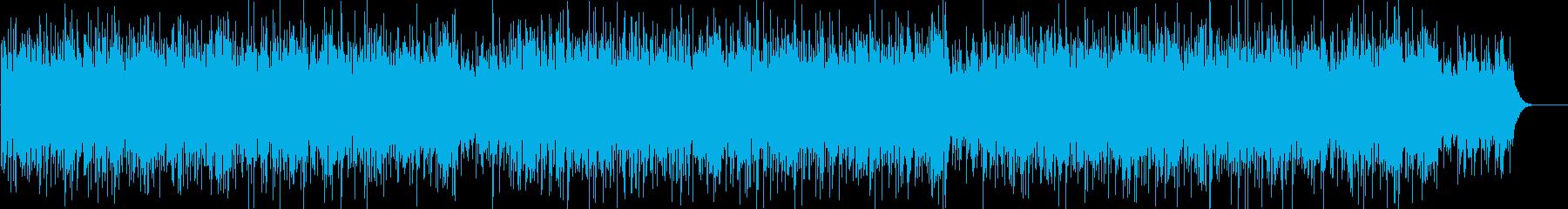 緊張感のあるオーケストラ+エレクトロの再生済みの波形
