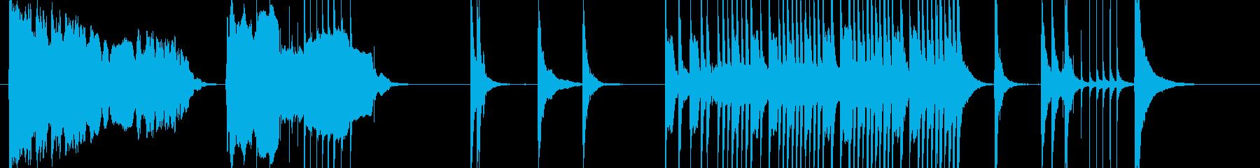 浪人武士の決闘シーンで使われそうの再生済みの波形