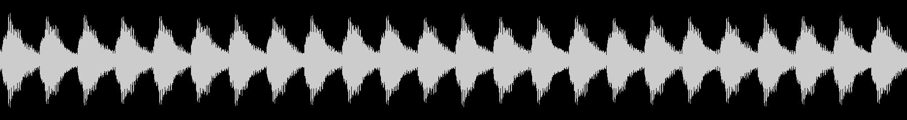 踏切の音01(カンカンカンカン)ループの未再生の波形
