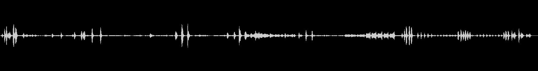 ヒヨドリ6 ソロ 使い易い~早朝生録音の未再生の波形