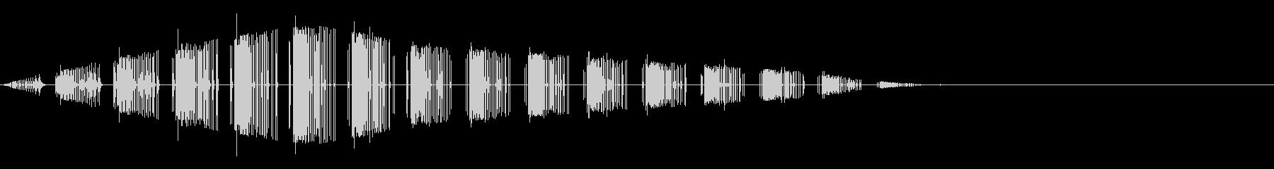 ババババ(レトロ/出現/魔法/8bit)の未再生の波形