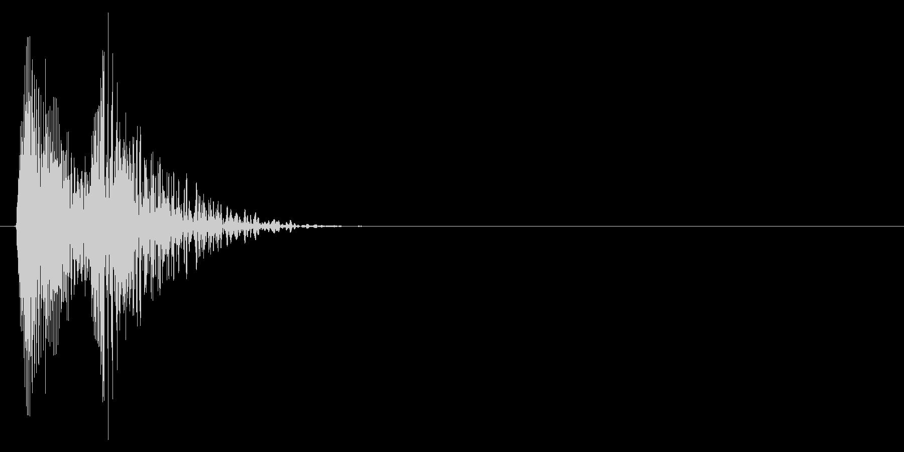 キュルル...(悲しい、涙、感情表現)の未再生の波形