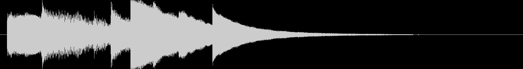 ジングル - 日記を書くの未再生の波形