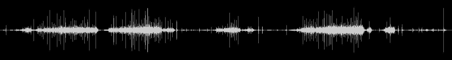 ミシン、バージョン2、ツール。 D...の未再生の波形