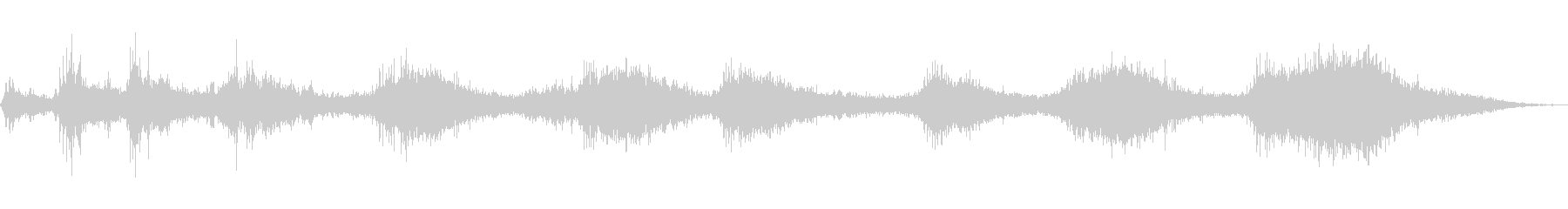 EXT:スタート、アイドリングライ...の未再生の波形