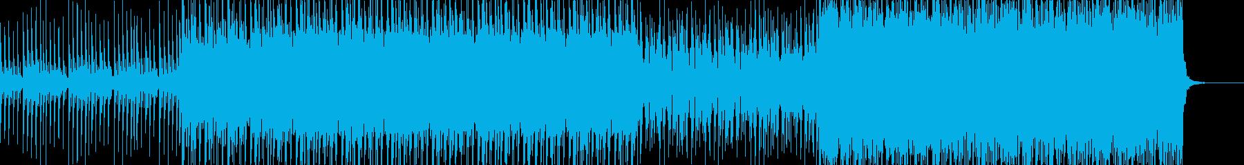 シリアスな緊迫感ただようシーンのBGMにの再生済みの波形