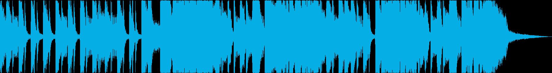 【20秒】軽快スカ風/ラジオCM用の再生済みの波形
