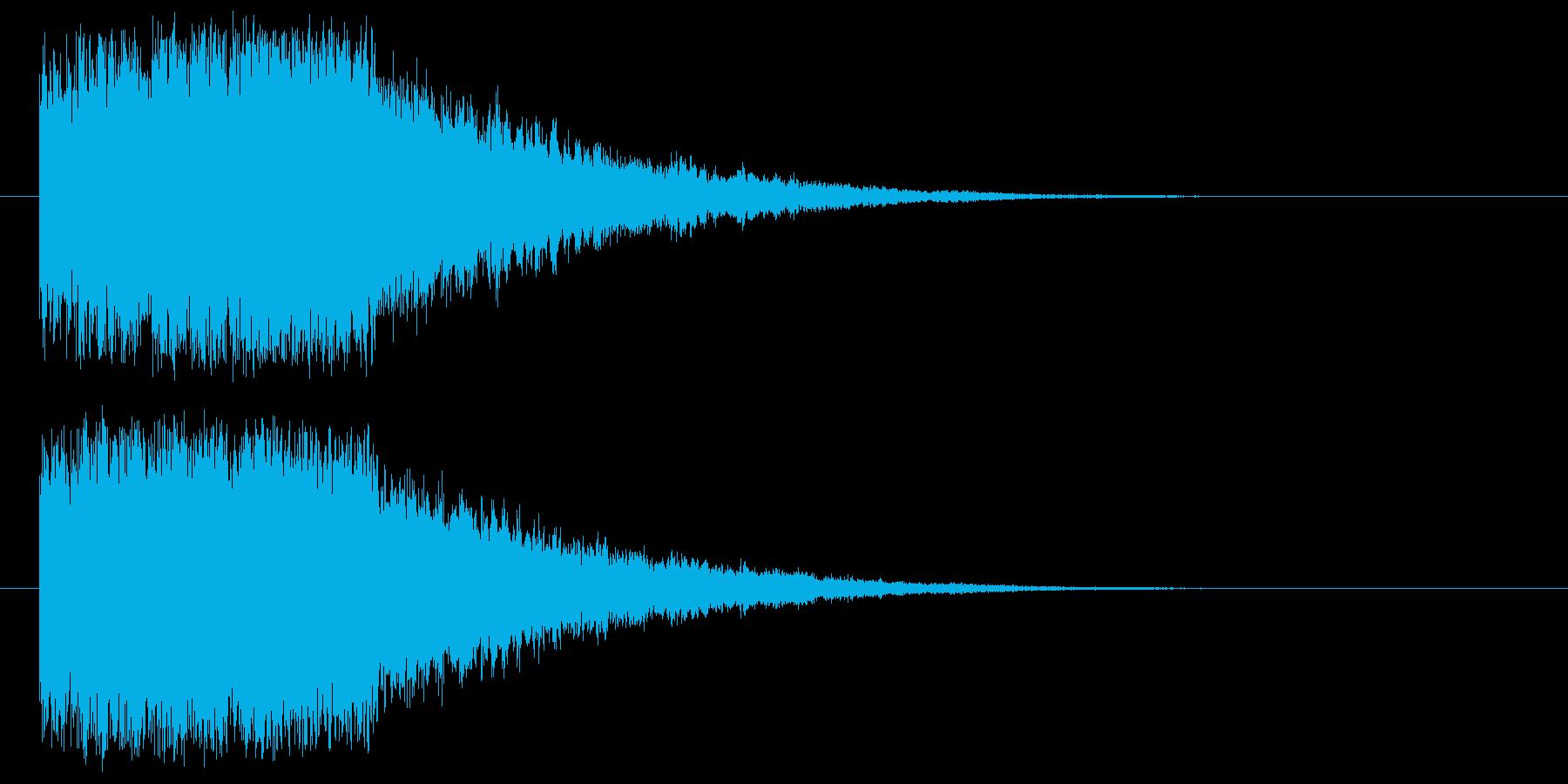 シューシュー(ワープ・移動)の再生済みの波形
