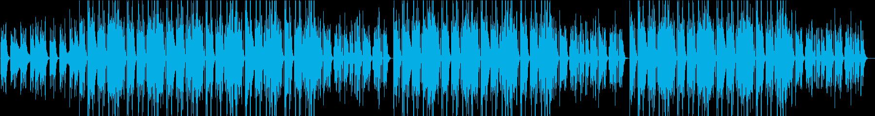 【R&B】アリアナグランデのようなBGMの再生済みの波形