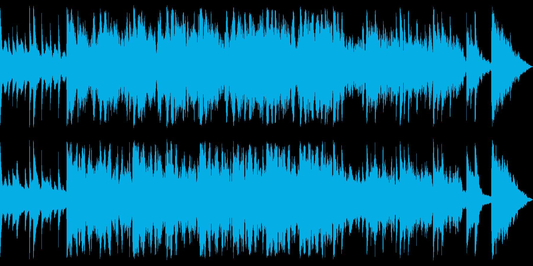 柔らかく繊細で落ち着いたサウンドの再生済みの波形