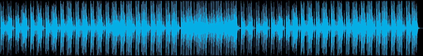 穏やかで優しいアコースティック♪の再生済みの波形