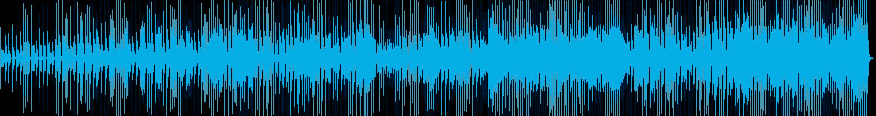 明るくてシンプルなアコースティック音楽の再生済みの波形